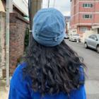Denim Brimless Hat
