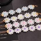 Flower-accent Bracelet