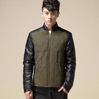 Panel Zip Jacket