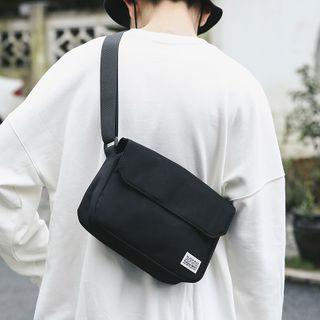 Plain Lightweight Messenger Bag