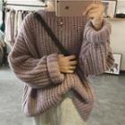 Crewneck Boxy Sweater