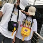Nylon Buckled Crossbody Bag