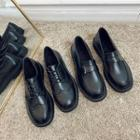 Lace-up Brogue Shoes / Loafers