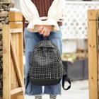 Window Pane Canvas Backpack