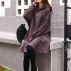 Dropwaist Hooded Pullover