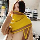 Two-tone Scarf As Shown In Figure - One Size