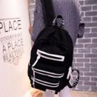 Contrast Canvas Backpack