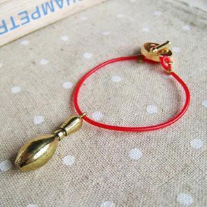 Bowling Star Bracelet (red)