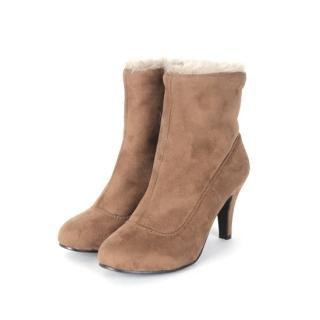 Faux-fur Lined Ankle Boots