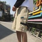 Buckled Cargo Shorts