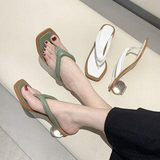 Low-heel Flip-flops