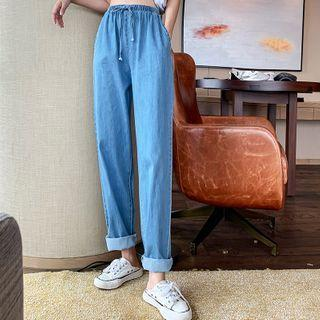 Straight-leg Jeans Blue - One Size