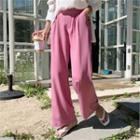 Colored Sleek Summer Dress Pants