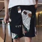 Couple Matching Printed Shorts