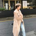 Double-breasted Long Vest Coat
