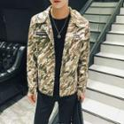 Camo Pocketed Jacket