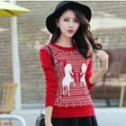 Horse Pattern Sweater