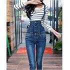 Skinny Dungaree Jeans