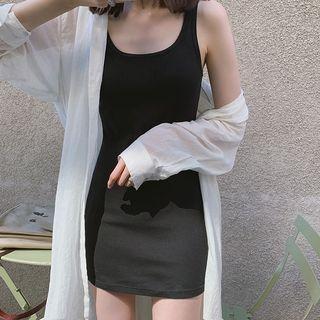 Plain Tank Top / Plain Mini Tank Dress
