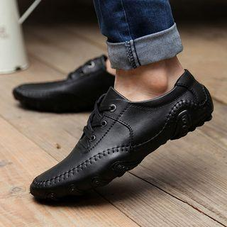 Genuine Leather Loafers / Sneakers