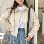 Long Sleeve Pocket Front Jacket