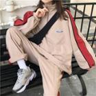 Contrast Trim Sweatshirt / Sweatshorts / Sweatpants
