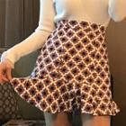 Pattern Miniskirt