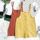 Buttoned Jumper Shorts