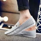 Pinstriped Loafers