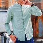 Frog-buttoned Shirt