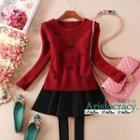 Bow Accent Sweater