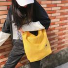 Canvas Embroidered Tote Bag