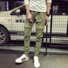 Cargo Pocket Tapered Pants
