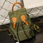 Flap Oxford Backpack