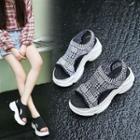 Platform Fabric Sandals