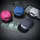 Moustache Dotted Baseball Cap