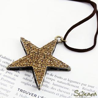 Rhinestone Star Pendant
