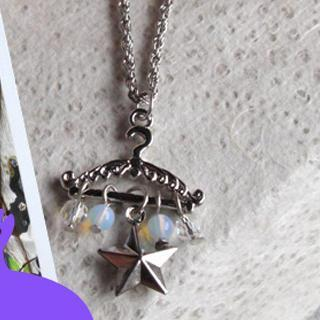 Clothes Stand Necklace