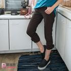 Bow Accent Capri Pants