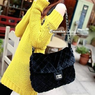 Chain-strap Quilted Shoulder Bag