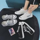 Embroidery Canvas Sneakers