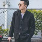 Chinese-style Frog-button Printed Light Jacket