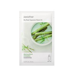 Innisfree - My Real Squeeze Mask Ex - 14 Types Bamboo