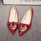 Bow Accent Patent Flats