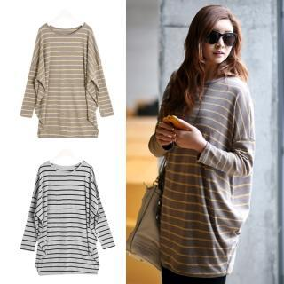 Striped Loose-fit T-shirt