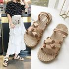 Star Studded Flat Sandals
