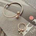 Metal Bangle / Ring / Set: Bangle + Ring