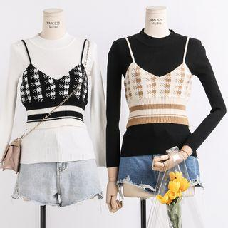 Crop Knit Camisole Top