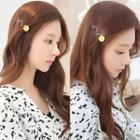 Floral Wavy Hair Pin
