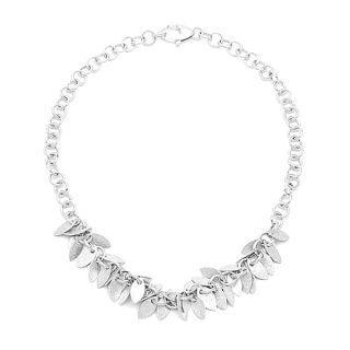 Winter Leaves Necklace